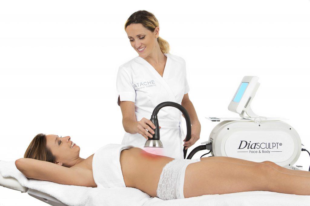 nouveau : soin corps diasculpt pour combattre la cellulite, mincir et raffermir