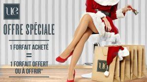 Offre de noel Unlimited Epil & Beauty : un forfait acheté un forfait offert